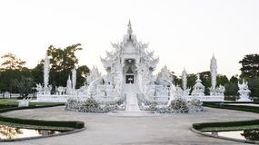 Wat Rong Khun, Chiang Rai, Tailândia Fotografia de Stock Royalty Free