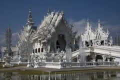 (Wat Rong Khun), Chiang Rai, Tajlandia Fotografia Royalty Free