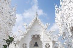 Wat Rong Khun Chiang Rai Thaïlande Images stock