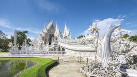 Wat Rong Khun, Chiang Rai, Thailand stock fotografie