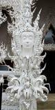 Wat Rong Khun Chiang Rai Thailand Stock Foto