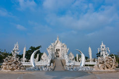 Wat Rong Khun in Chiang Rai of Thailand, Asia Royalty Free Stock Images