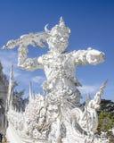 Wat Rong Khun, Chiang Rai, Thailand lizenzfreie stockfotografie