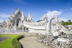 Wat Rong Khun, Chiang Rai, Thailand lizenzfreie stockfotos