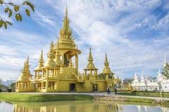 Wat Rong Khun, Chiang Rai, Thailand lizenzfreies stockfoto