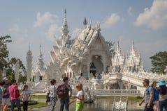 Wat Rong Khun, Chiang Rai White Temple photo libre de droits