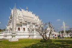 Wat Rong Khun, Chiang Rai White Temple images libres de droits