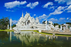 Wat Rong Khun in Chiangrai province, Thailand Royalty Free Stock Images