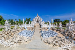 Wat Rong Khun in Chiangrai province, Thailand Royalty Free Stock Photography
