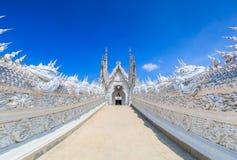 Wat Rong Khun in Chiangrai provincie, Thailand royalty-vrije stock afbeeldingen