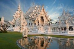 Wat Rong Khun, Chiangrai, Tailandia Imágenes de archivo libres de regalías