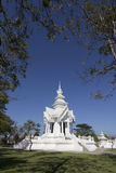 Wat Rong Khun Chiangrai temple Royalty Free Stock Photography