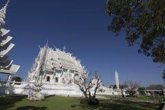 Wat Rong Khun Chiangrai temple Stock Image