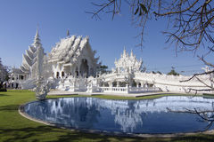 Wat Rong Khun Chiangrai temple Royalty Free Stock Photography