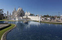 Wat Rong Khun Chiangrai temple Stock Photo
