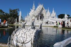 Wat Rong Khun ChiangRai, Thailand Stockfotografie