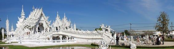 Wat Rong Khun, Chiangrai, Thailand stockbild