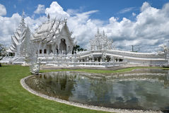 Wat Rong Khun, Chiangrai, Thailand stockbilder