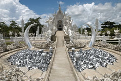 Wat Rong Khun,Chiangrai, Thailand Royalty Free Stock Photos