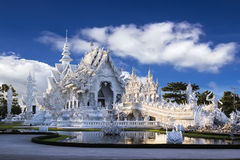 Wat Rong Khun in Chiangrai Royalty Free Stock Images