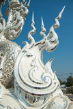 Wat Rong Khun Chiangrai, Thailand Royaltyfri Bild