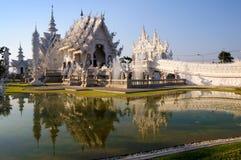 Wat Rong Khun,Chiangrai, Thailand Royalty Free Stock Images