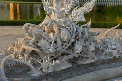 Wat Rong Khun,Chiangrai, Thailand Stock Image