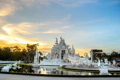 Wat Rong Khun after the earthquake Stock Images