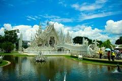 Wat Rong Khun, godsdienst en art. stock fotografie