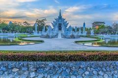 Wat Rong Khun i Chiang Rai, Thailand Royaltyfri Bild
