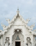 Wat Rong khun is known among foreigners as the White Temple in  Thailand Royalty Free Stock Photos
