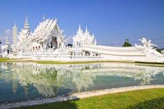 Wat Rong Khun, Norden von Thailand lizenzfreie stockbilder
