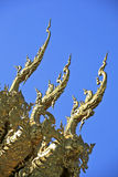 Wat Rong Khun, nordico della Tailandia Immagine Stock