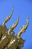 Wat Rong Khun, norteño de Tailandia Imagen de archivo