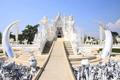 Wat Rong Khun, North of Thailand Stock Images
