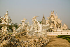 Wat Rong Khun stock photos