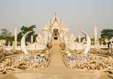 Wat Rong Khun stock photo