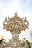 Wat Rong Khun, provincia di Chiang Rai, Tailandia del Nord Immagini Stock Libere da Diritti