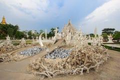 Wat Rong Khun, provincia di Chiang Rai, Tailandia del Nord Immagine Stock Libera da Diritti