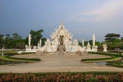 Wat Rong Khun, provincia di Chiang Rai, Tailandia del Nord Fotografia Stock Libera da Diritti