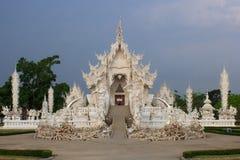 Wat Rong Khun, provincia di Chiang Rai, Tailandia del Nord Fotografia Stock