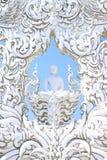 Wat Rong Khun Statue, Norden von Thailand lizenzfreie stockfotografie