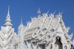 Wat Rong Khun Tempel Stockbild