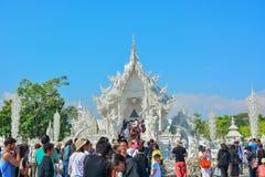Wat Rong Khun-Tempel in Chiangrai, Thailand Lizenzfreies Stockbild