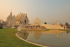 Wat Rong Khun temple Royalty Free Stock Images