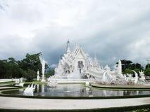 Wat Rong Khun. Rong Khun temple at Chiangrai Thailand Stock Images