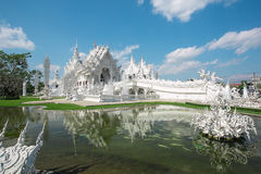 Wat Rong Khun temple Thailand Stock Photos