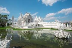 Wat Rong Khun temple Thailand Stock Photos