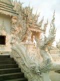 Wat Rong Khun/templo blanco Foto de archivo libre de regalías
