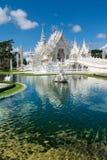 Wat Rong Khun (templo blanco), Chiang Rai, Tailandia fotos de archivo